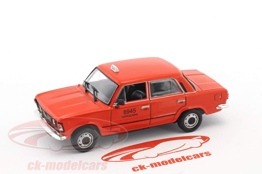 Fiat 125P taxi red 1:43 Altaya