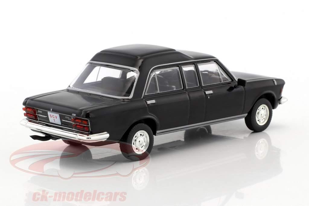 Fiat 130 papamobile nero 1:43 Altaya