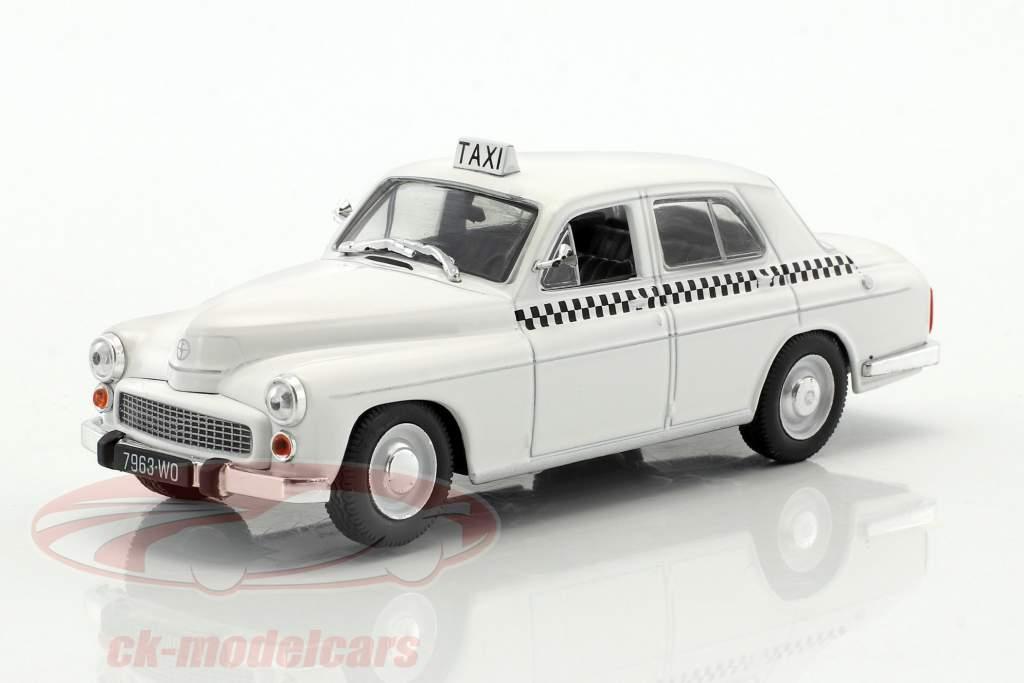 Warszawa 203 Taxi blanc 1:43 Altaya