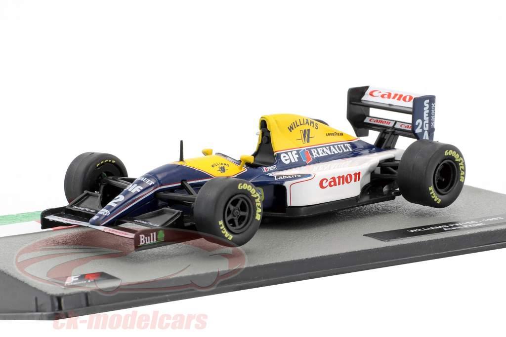 Alain Prost Williams FW15C #2 champion du monde formule 1 1993 1:43 Altaya