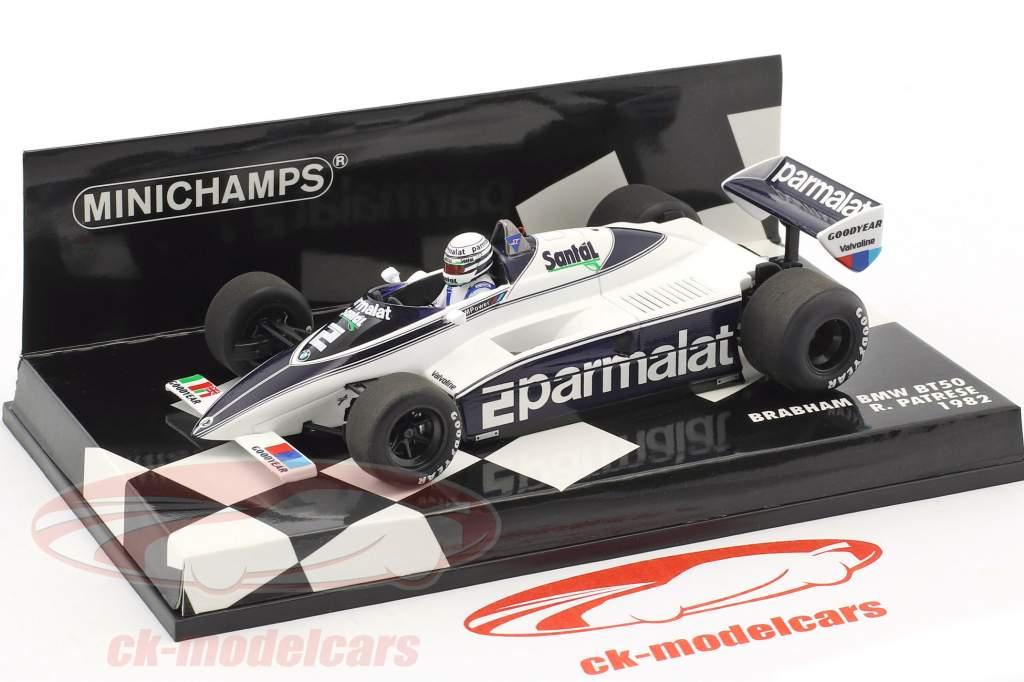 Riccardo Patrese Brabham BT50 #2 formula 1 1982 1:43 Minichamps