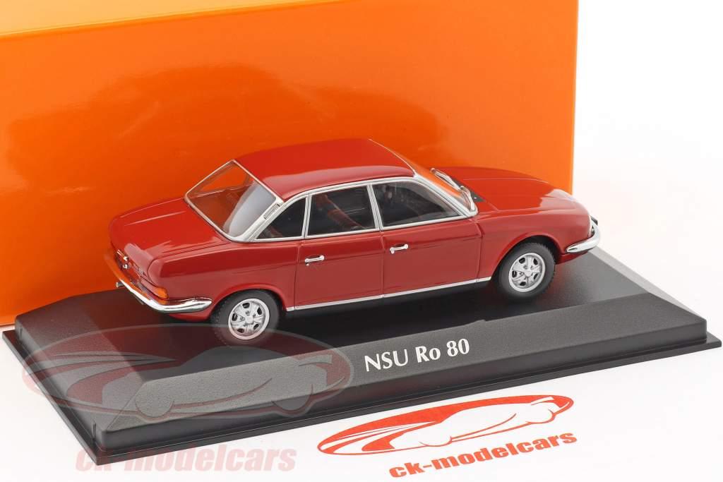 NSU RO 80 year 1972 red 1:43 Minichamps