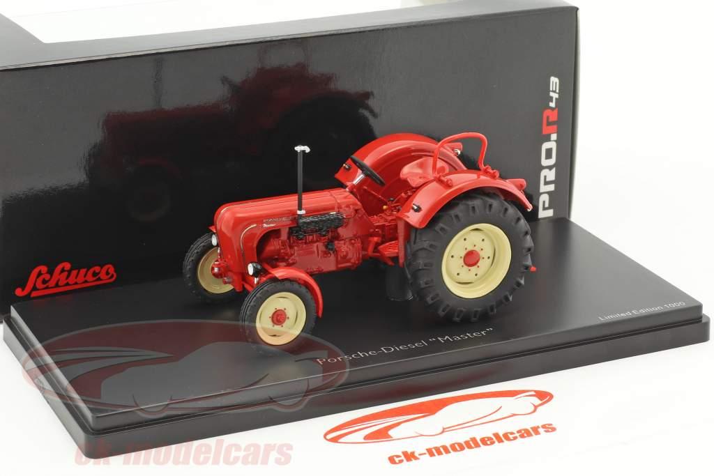 Porsche Master Traktor rot 1:43 Schuco