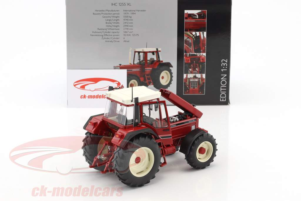 International Harvester IHC 1255XL red 1:32 Schuco