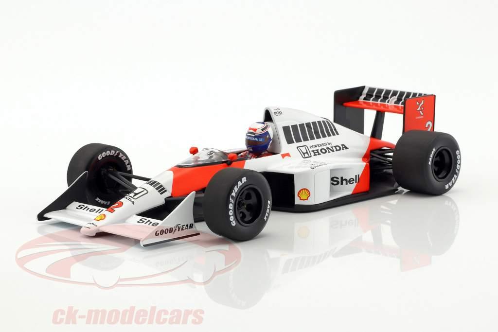 Alain Prost McLaren MP4/5 #2 World Champion formula 1 1989 1:18 Minichamps