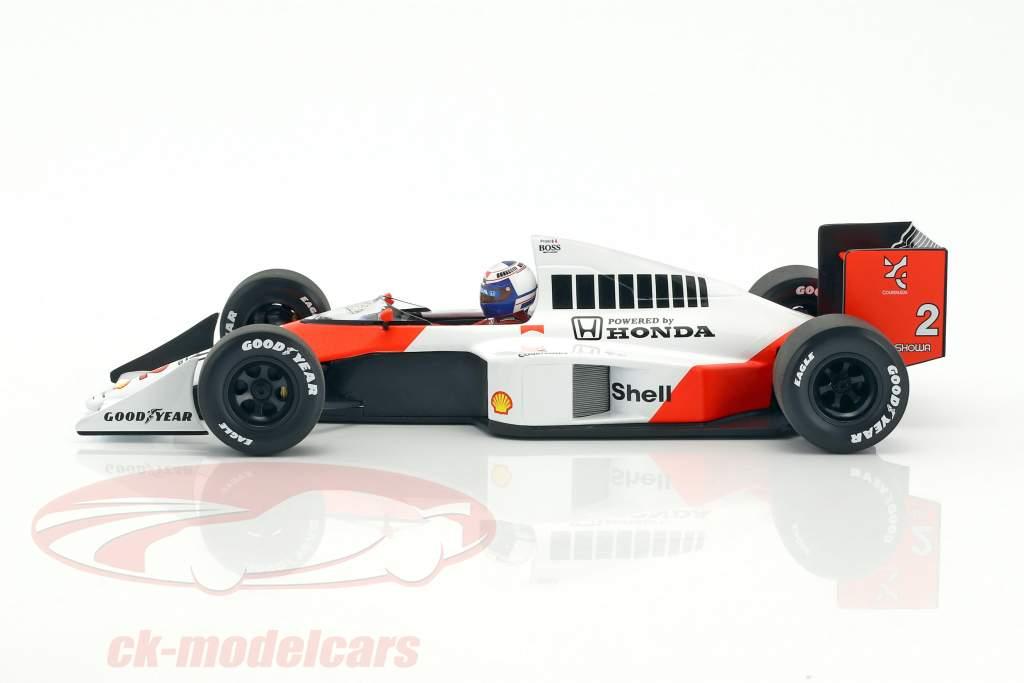 Alain Prost McLaren MP4/5 #2 campione del mondo formula 1 1989 1:18 Minichamps