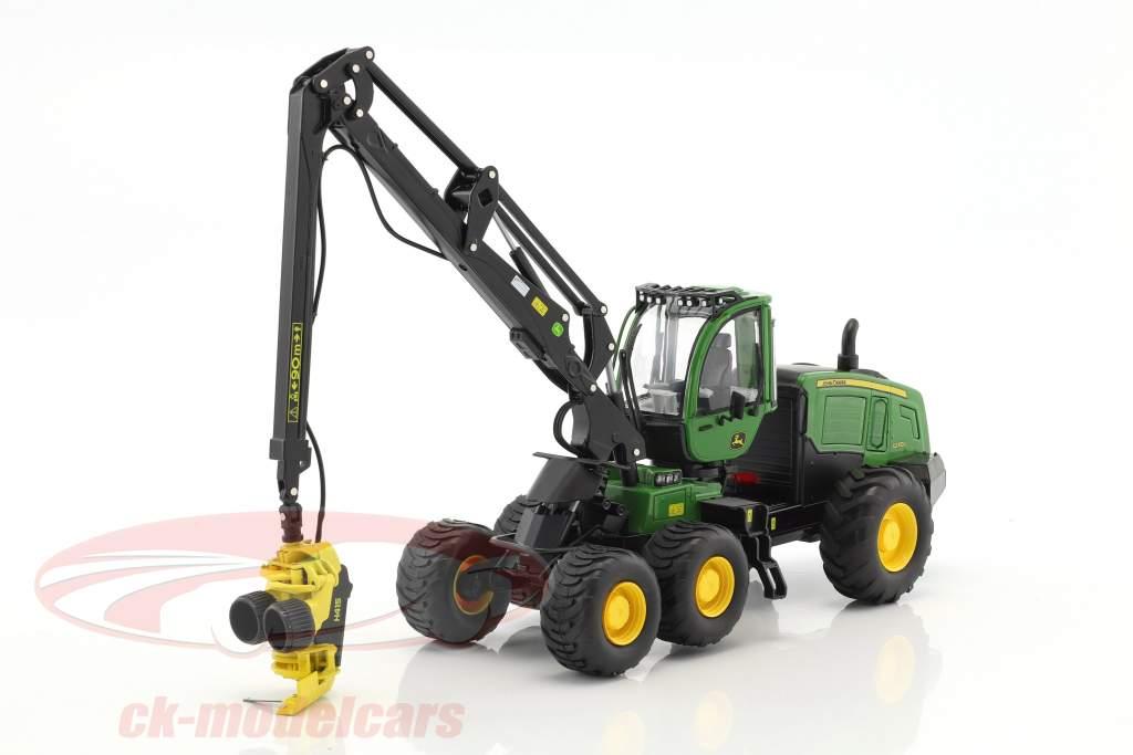 John Deere 1270G 6W Harvester verde 1:32 Schuco