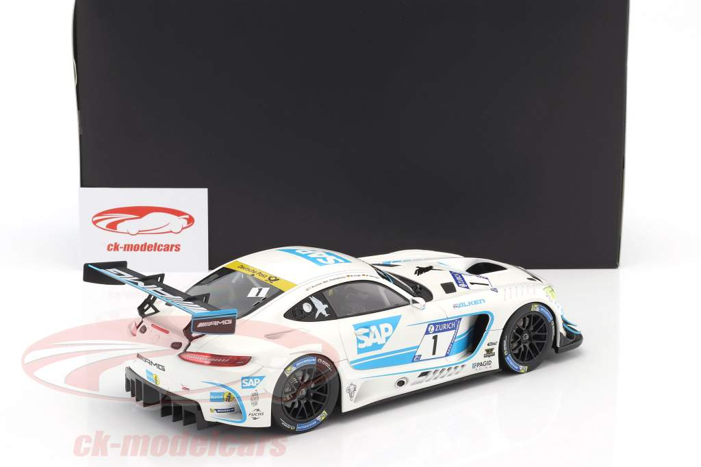 Mercedes-Benz AMG GT3 #1 5 ° 24h Nürburgring 2017 Team Black Falcon 1:18 Norev