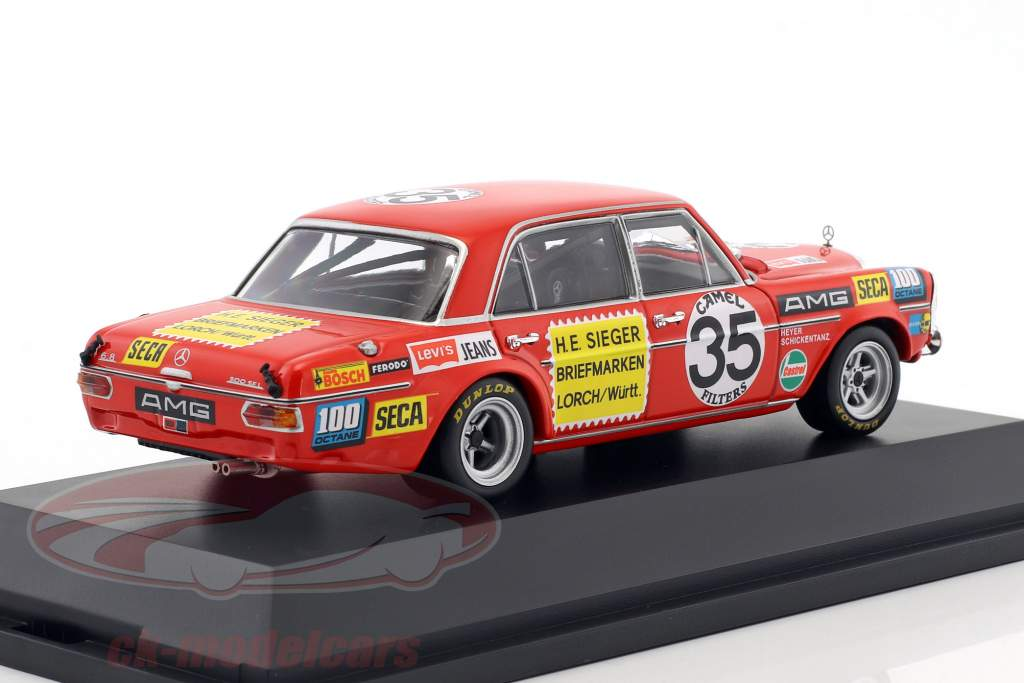 Mercedes-Benz AMG 300 SEL 6.8 #35 2nd 24h Spa 1971 Heyer, Schickentanz 1:43 Minichamps