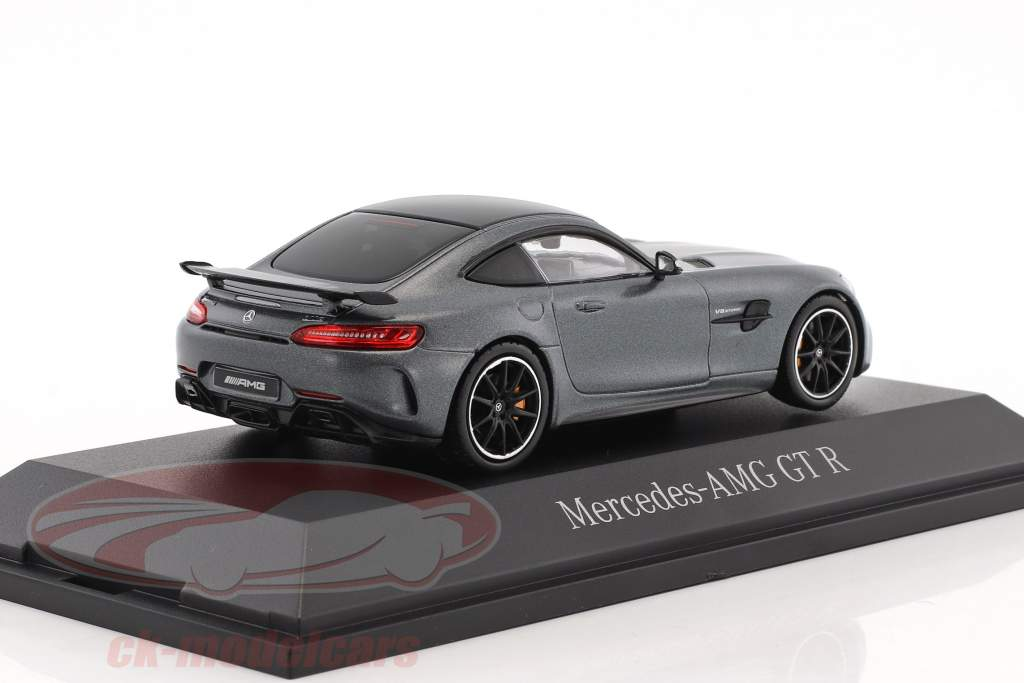 Mercedes-Benz AMG GT R designo selenite gray magno 1:43 Norev