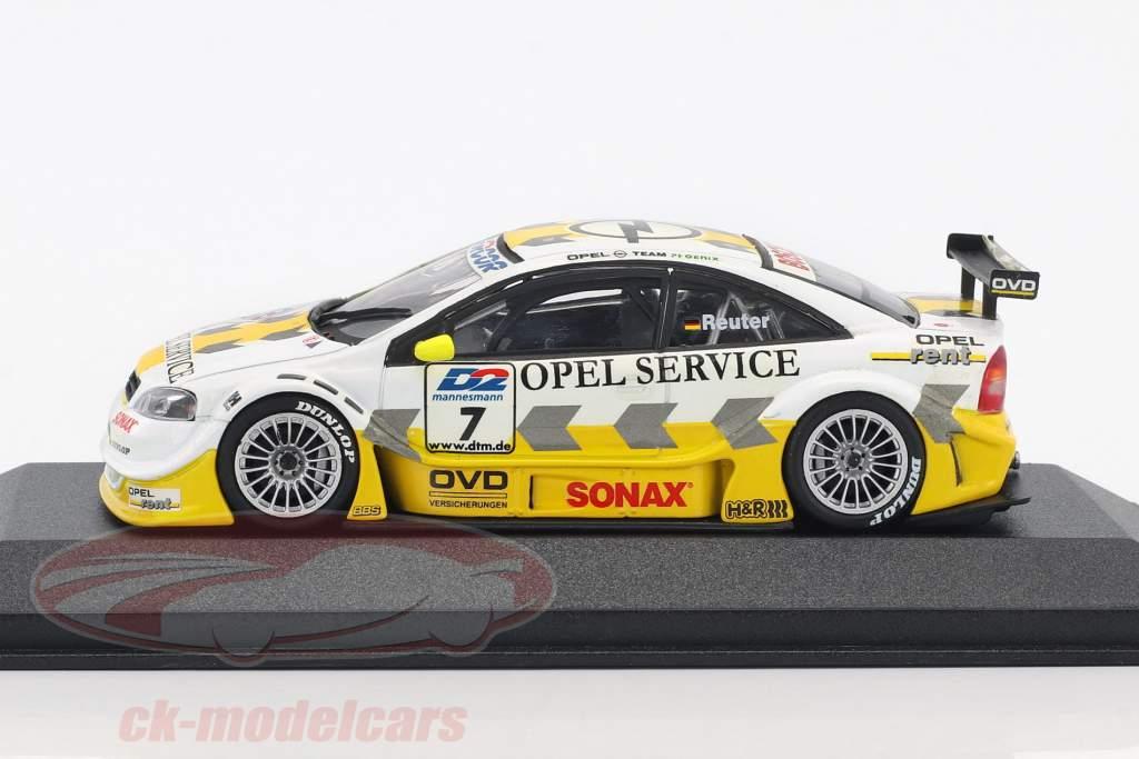 Opel Astra V8 Coupe #7 DTM 2000 Manuel Reuter 1:43 Minichamps