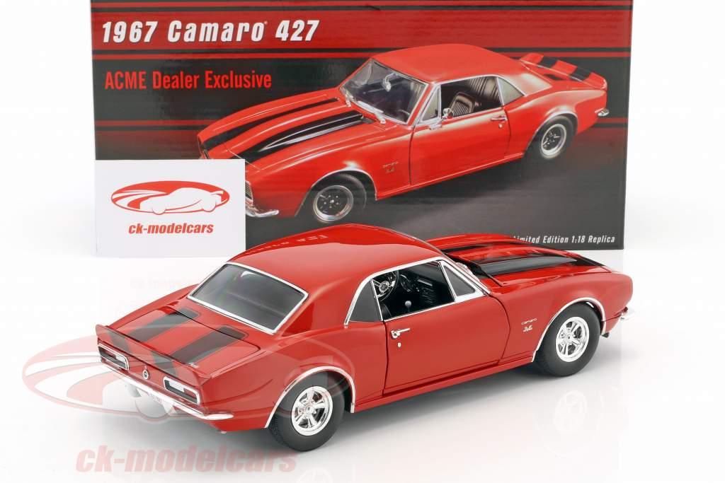 Chevrolet Camaro 427 year 1967 red / black 1:18 GMP