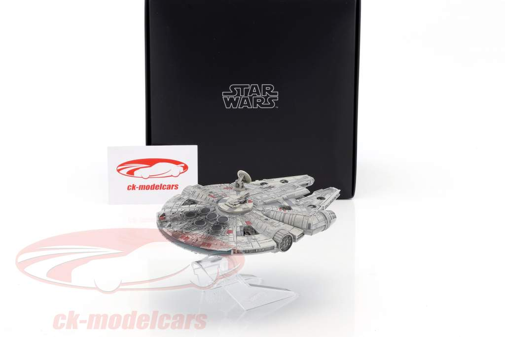 Millenium Falcon Star Wars VI Return of the Jedi (1983) argent / gris HotWheels Elite