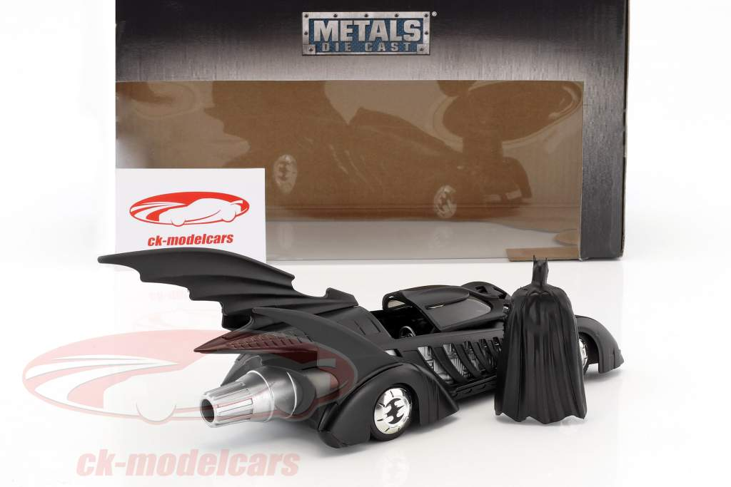 Batmobile Film Batman Forever (1995) schwarz mit Figur Batman 1:24 Jada Toys