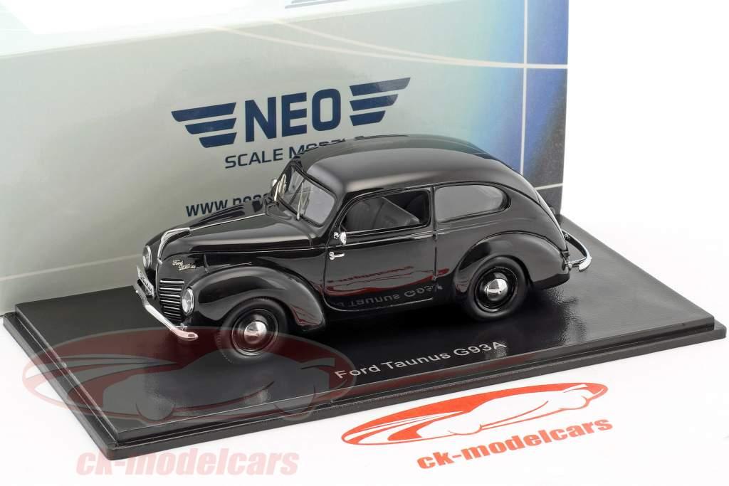 Ford Taunus G93A nero 1:43 Neo