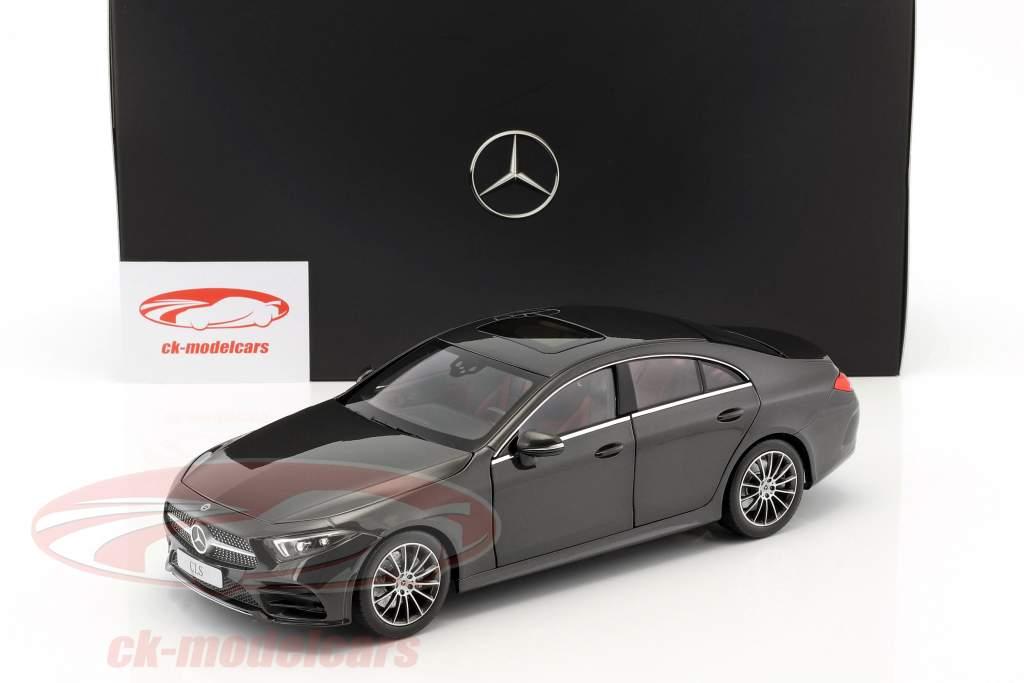 Mercedes-Benz CLS-Class Coupe C257 graphite gris métallique 1:18 Norev