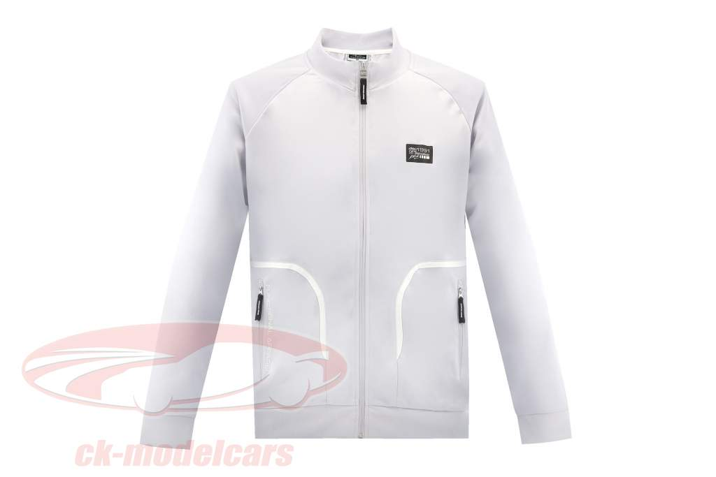 Michael Schumacher Track Jacket Tech  silver