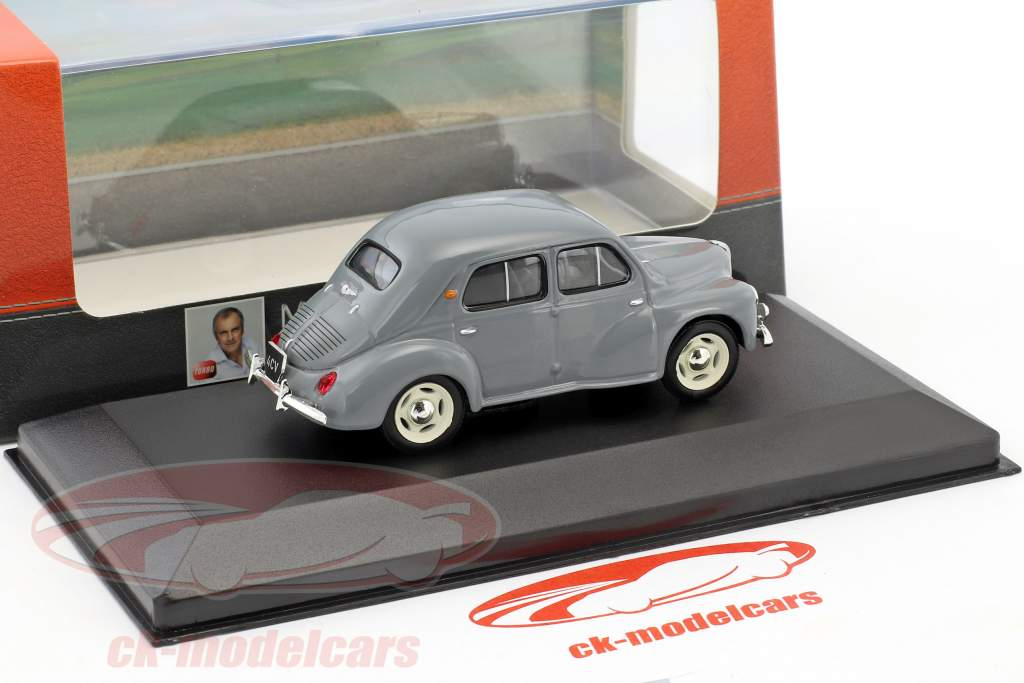 Renault 4CV year 1951 Gray 1:43 Atlas