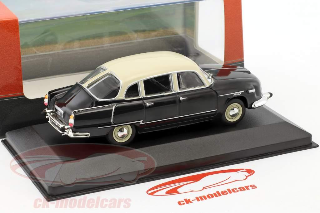 Tatra 603 year 1957 black / white 1:43 Atlas