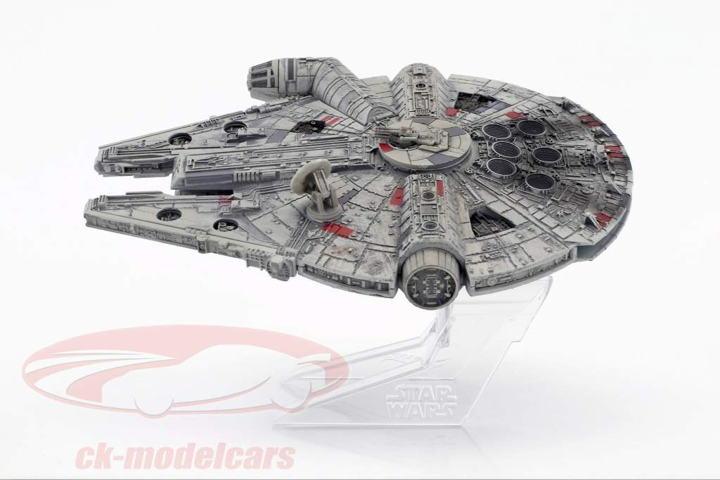 Millennium Falcon Star Wars VI Return of the Jedi (1983) silber / grau HotWheels Elite