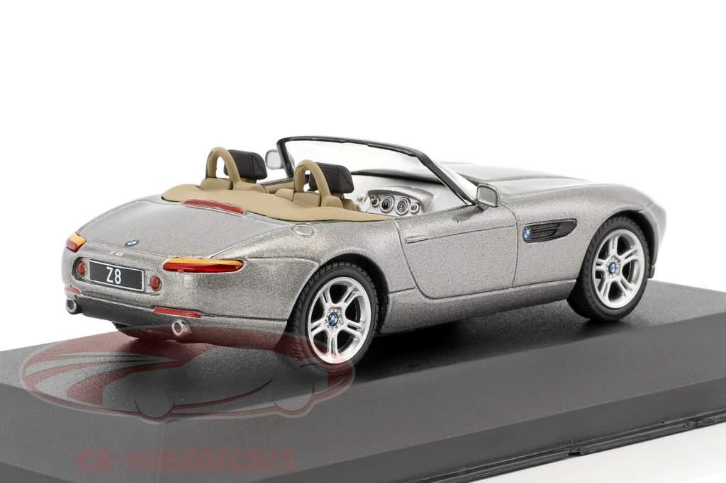 BMW Z8 anno di costruzione 2000 grigio metallico 1:43 Atlas