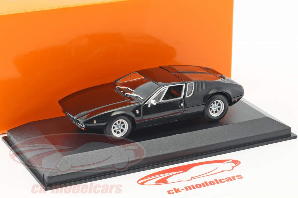 De Tomaso Mangusta Construction year 1967 black 1:43 Minichamps