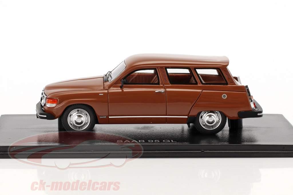 Saab 95 GL brown 1:43 Neo