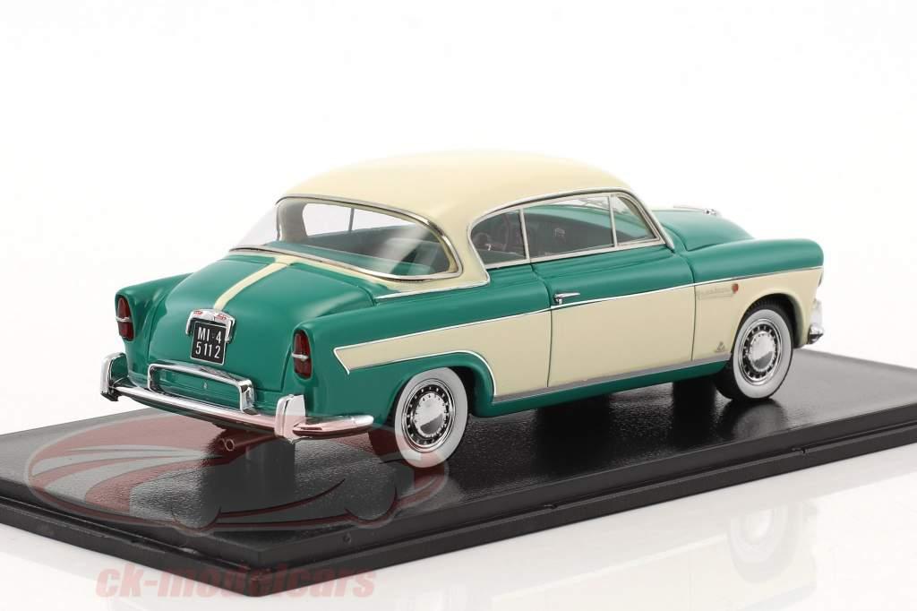 Fiat 1900 B Granluce anno 1957 beige / verde 1:43 Neo