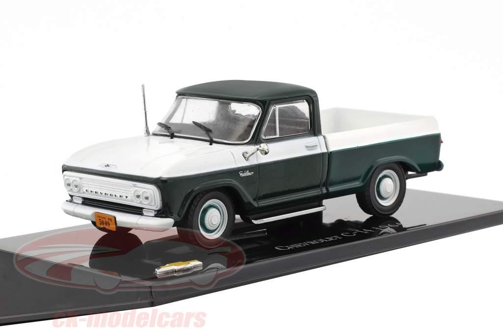 Chevrolet C-14 Pick-Up année de construction 1964 vert / blanc 1:43 Altaya
