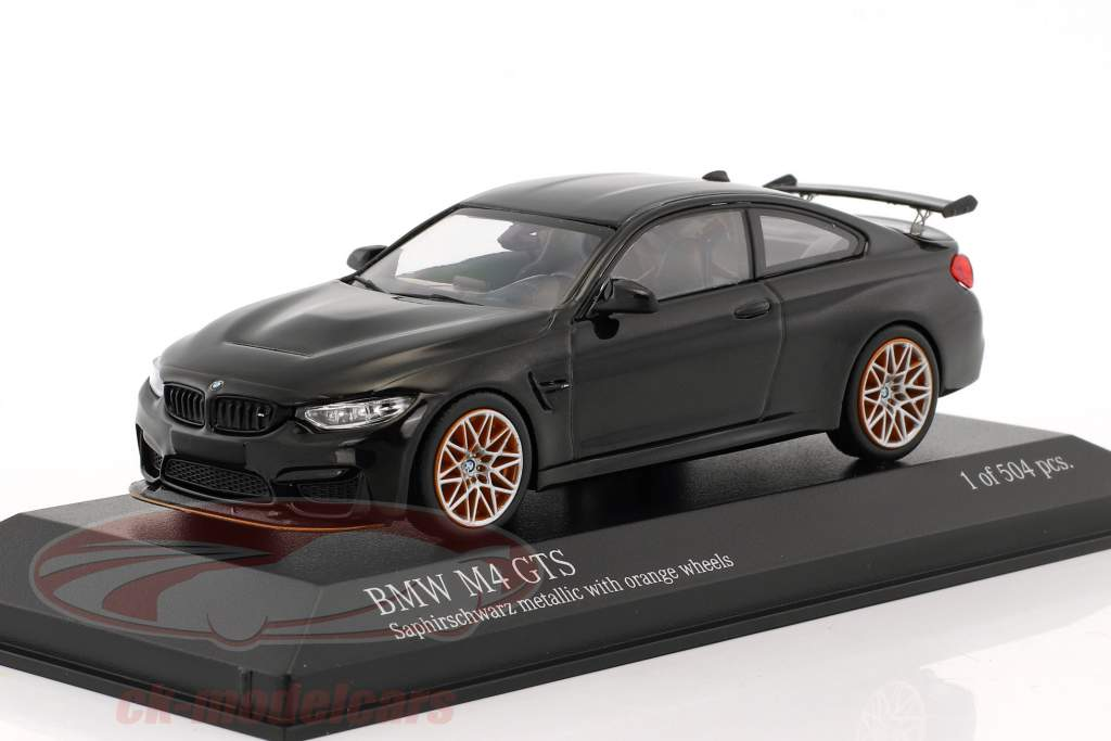 ck modelcars 410025222 bmw m4 gts ann e de construction 2016 saphir noir m tallique avec. Black Bedroom Furniture Sets. Home Design Ideas