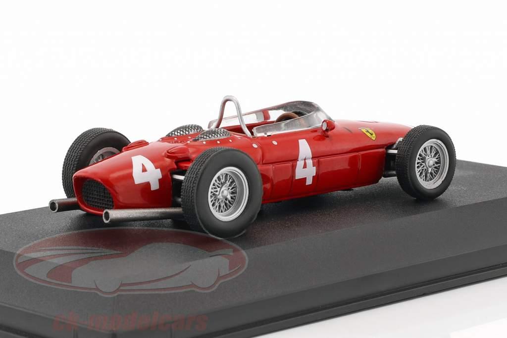 Wolfgang Graf Berghe von Trips Ferrari 156 Sharknose #4 2 formule 1 1961 1:43 Atlas