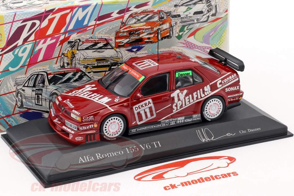 Alfa Romeo 155 V6 TI #11 DTM 1994 Christian Danner 1:43 Minichamps
