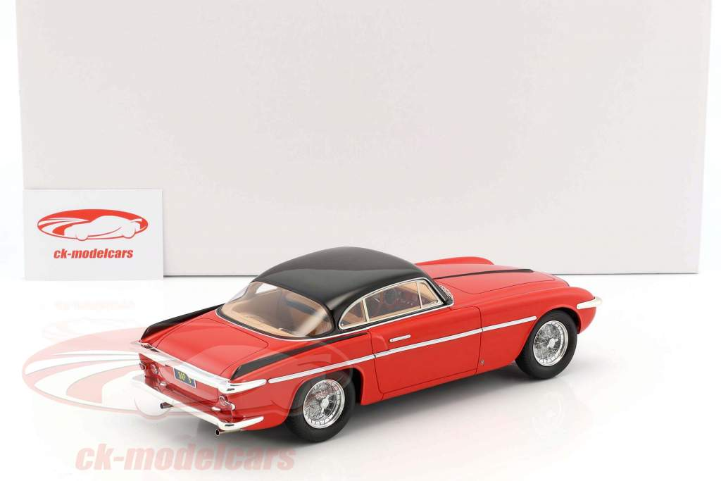 Ferrari 212 Inter Coupe Vignale year 1953 red / black 1:18 Matrix