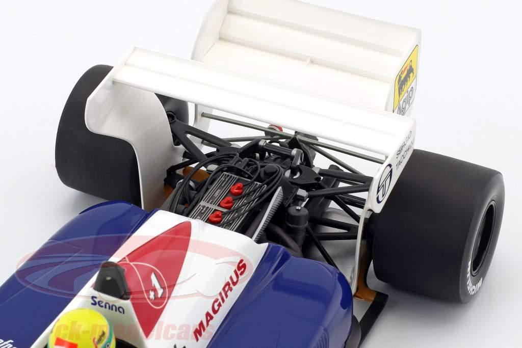 Ayrton Senna Toleman TG184 #19 formula 1 1984 1:18 Minichamps