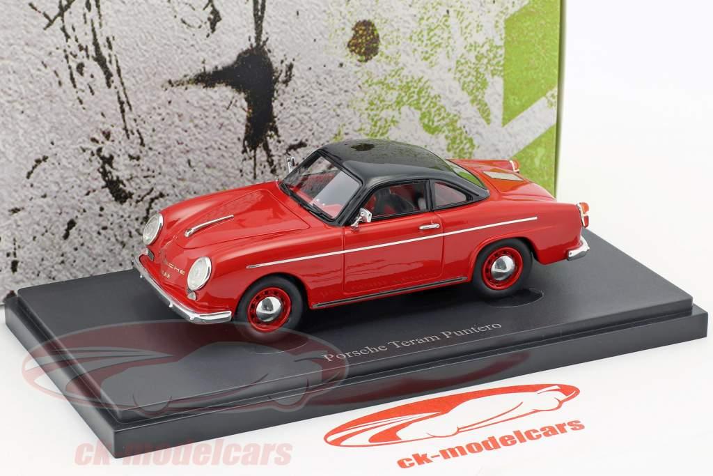 Porsche Teram Puntero anno di costruzione 1958 rosso / nero 1:43 AutoCult