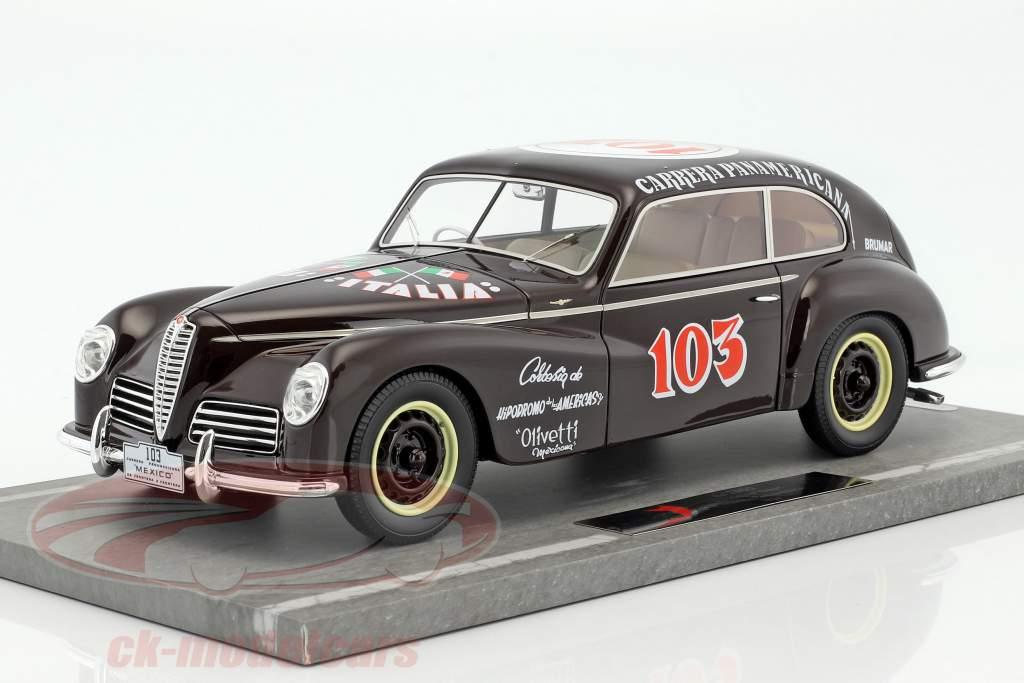 Alfa Romeo 6C 2500 Freccia D'oro #103 Carrera Panamericana 1950 1:18 BBR