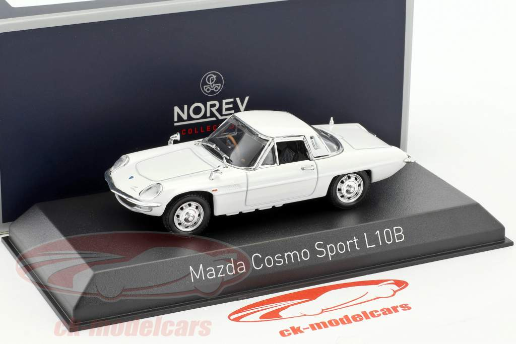 Mazda Cosmo Sport L10B année de construction 1968 blanc 1:43 Norev