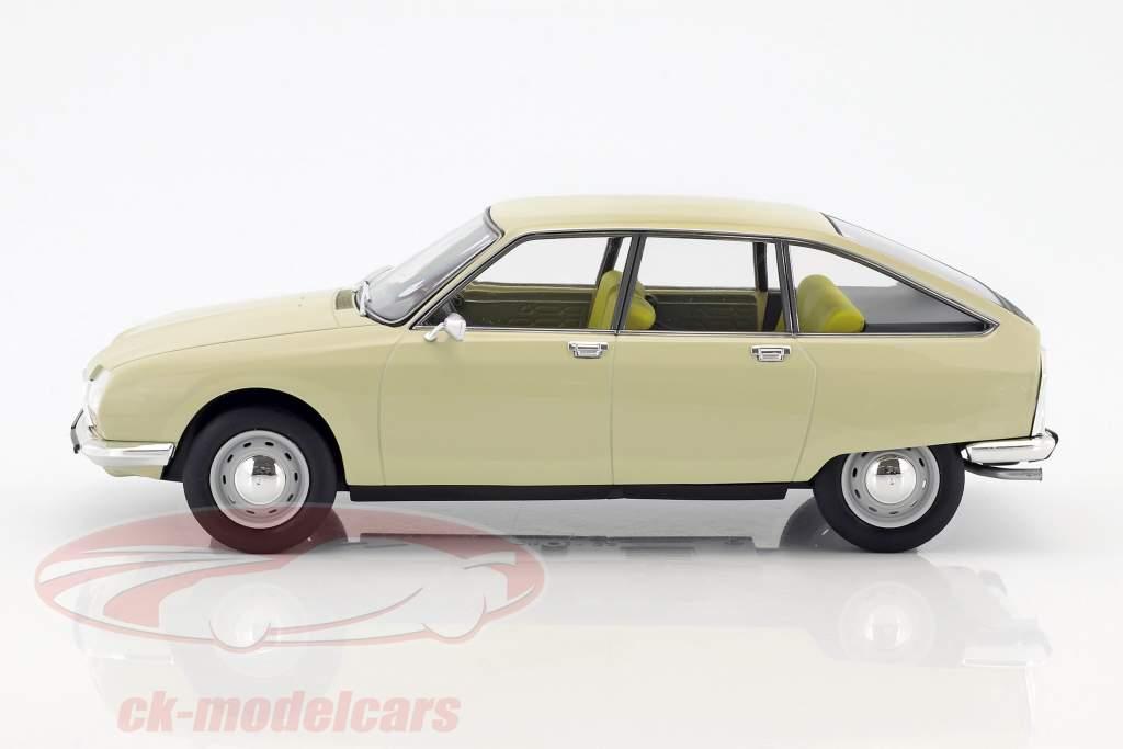 Citroen GS year 1971 beige 1:18 Norev