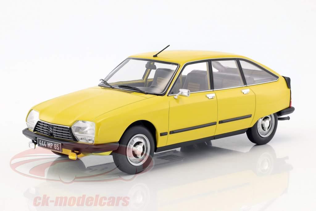 Citroen GS X3 year 1979 yellow 1:18 Norev