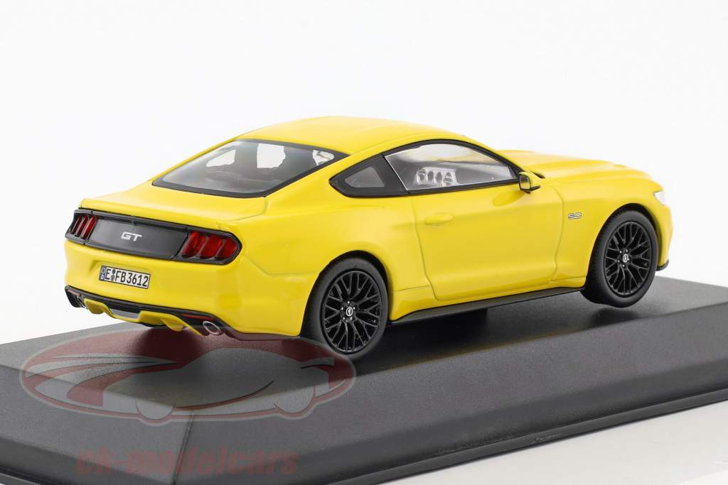 Ford Mustang Fastback année de construction 2015 jaune 1:43 Norev