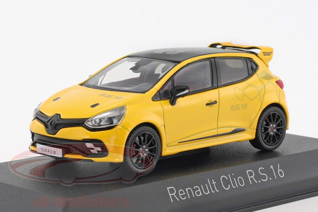 Renault Clio R.S. 16 year 2016 yellow 1:43 Norev