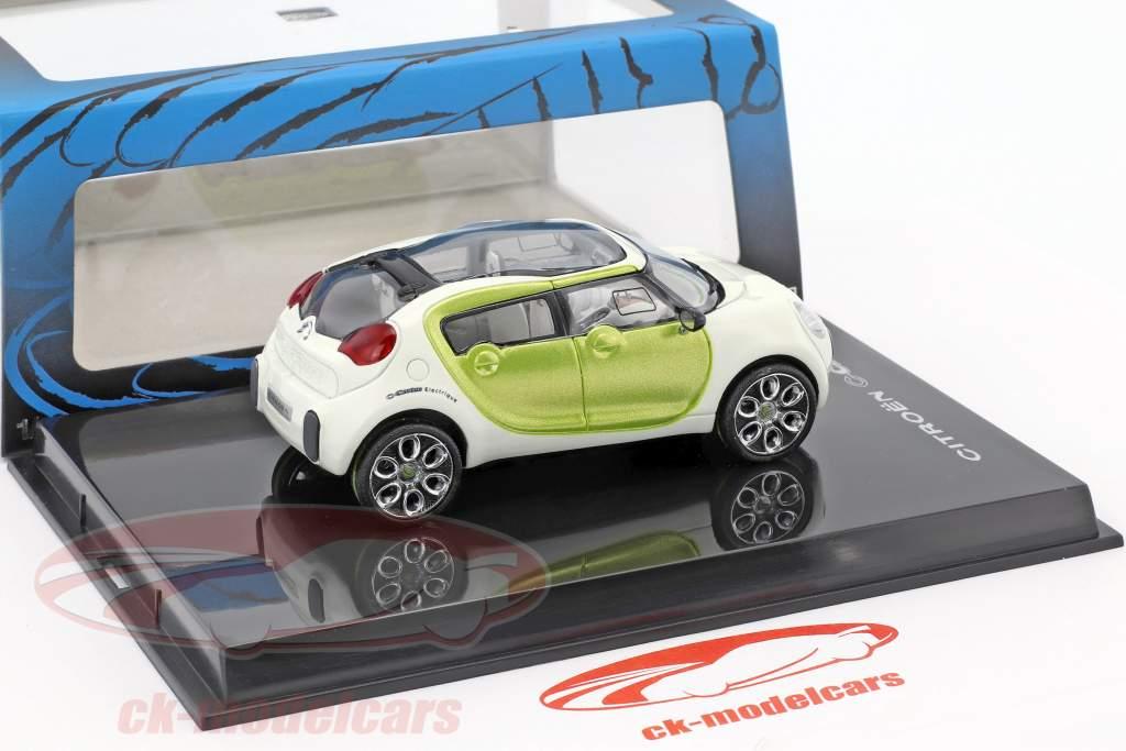 Citroen C-Cactus Concept Car anno di costruzione 2007 bianco / calce metallico 1:43 Norev
