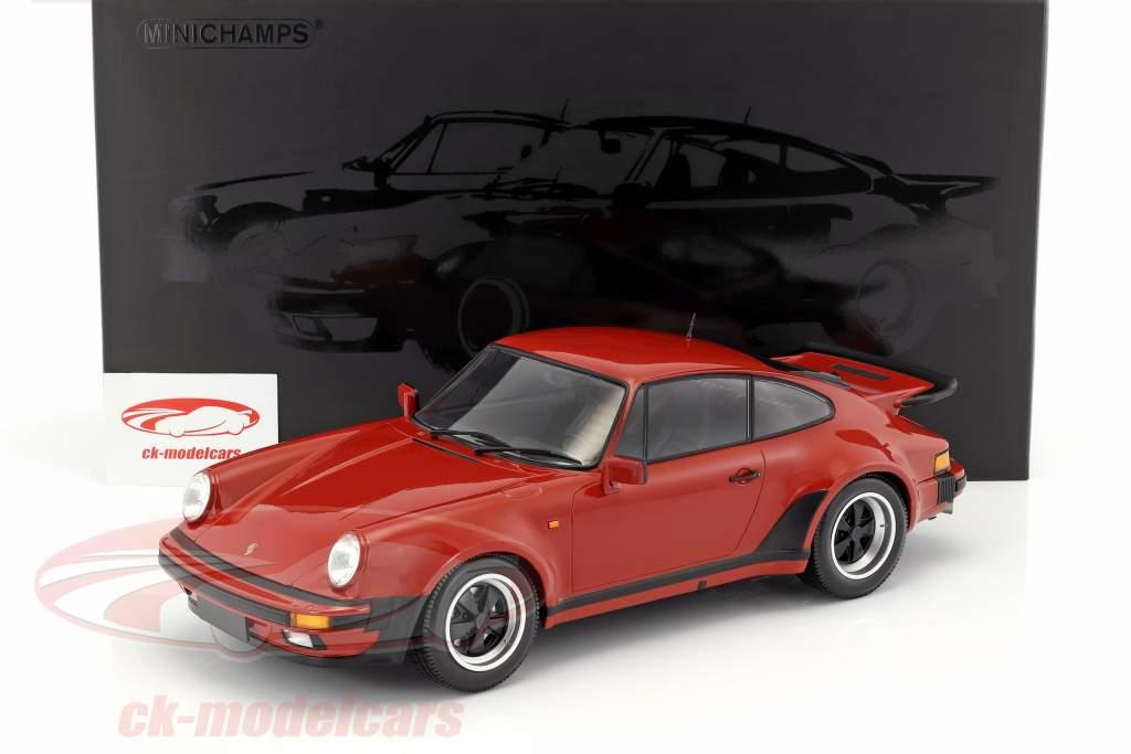 Porsche 911 (930) Turbo anno di costruzione 1977 Perù rosso 1:12 Minichamps