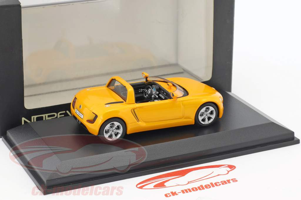Volkswagen VW Eco Racer Concept Car year 2005 ocher yellow metallic 1:43 Norev