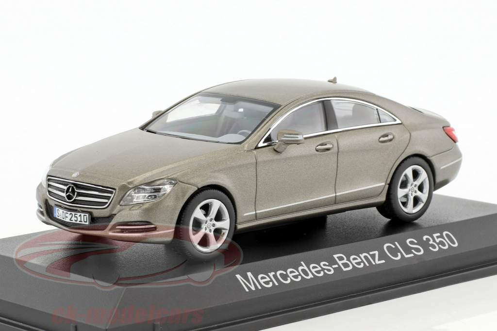 Mercedes-Benz CLS 350 CGI year 2010 gray metallic 1:43 Norev