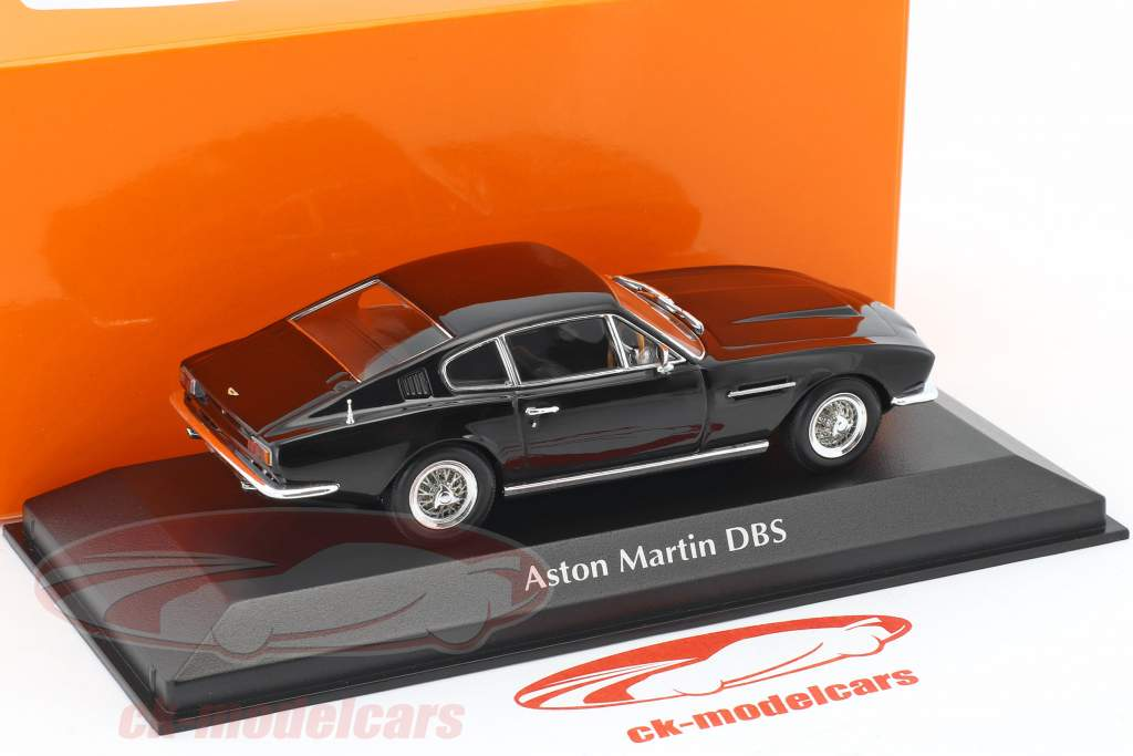 Aston Martin DBS year 1967 black 1:43 Minichamps