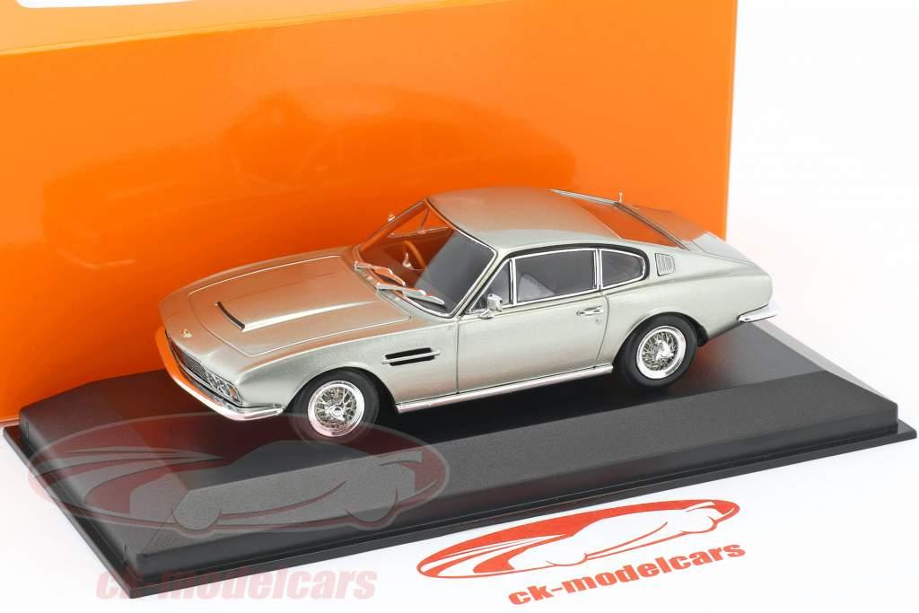 Aston Martin DBS anno di costruzione 1967 argento metallico 1:43 Minichamps