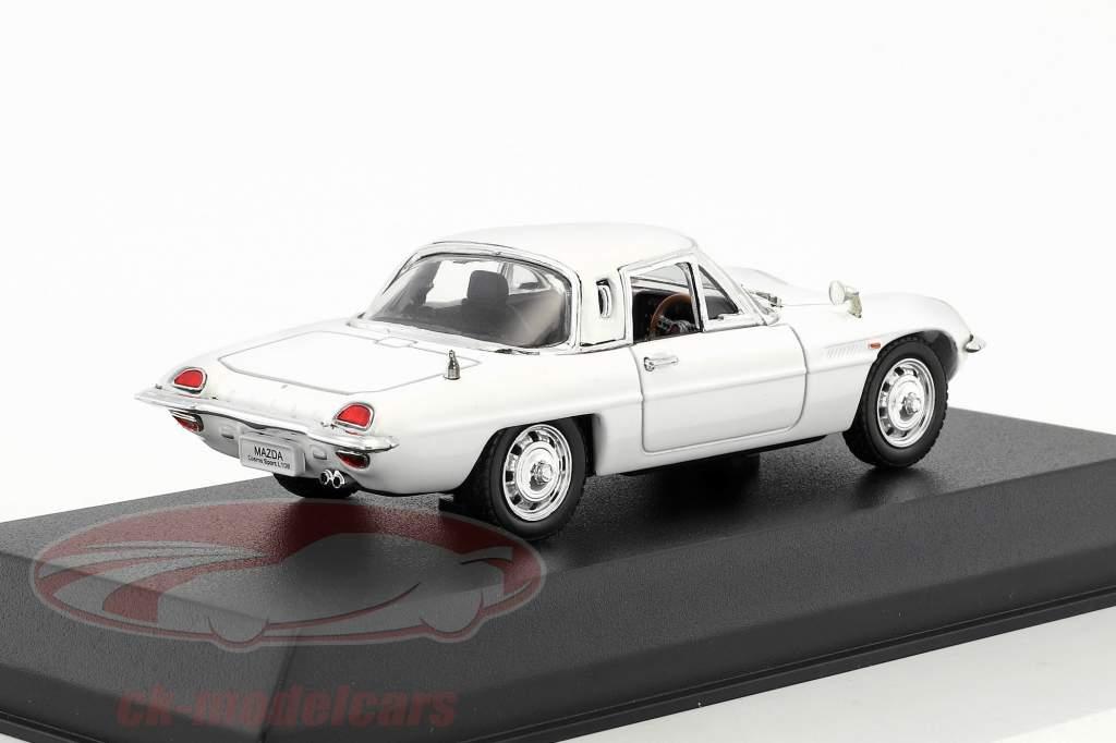 Mazda Cosmo Sport L10B anno di costruzione 1968 bianco 1:43 Norev