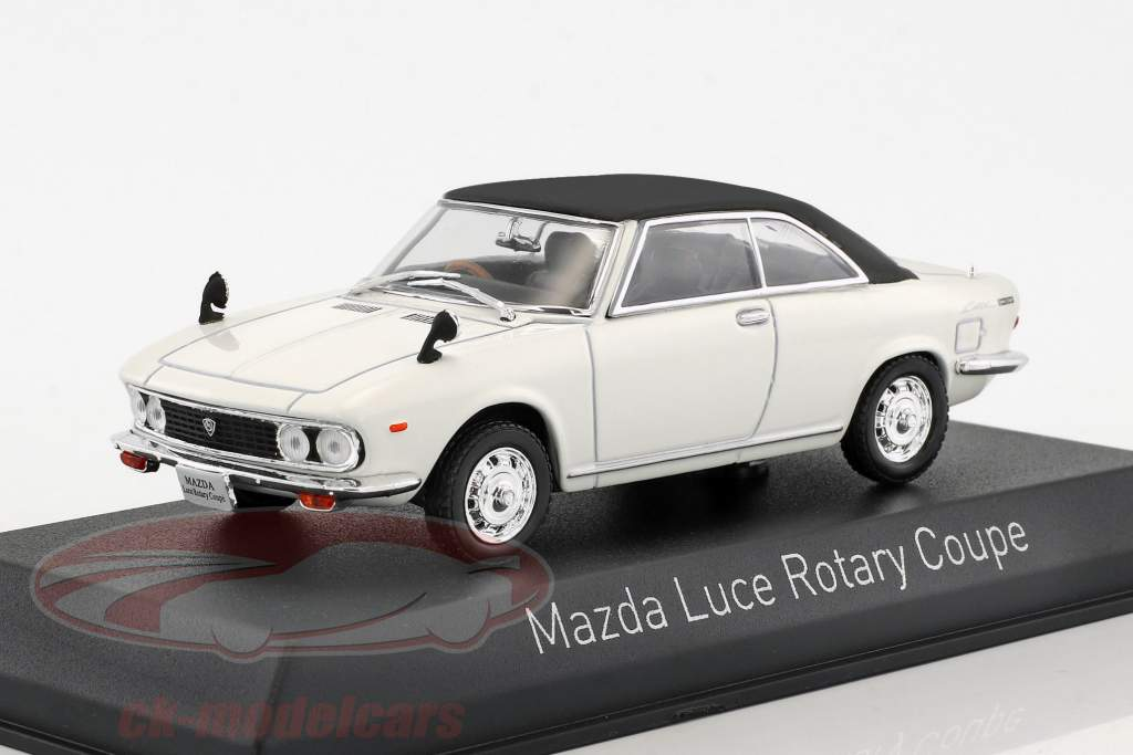 Mazda Luce Rotary Coupe year 1969 white / black 1:43 Norev