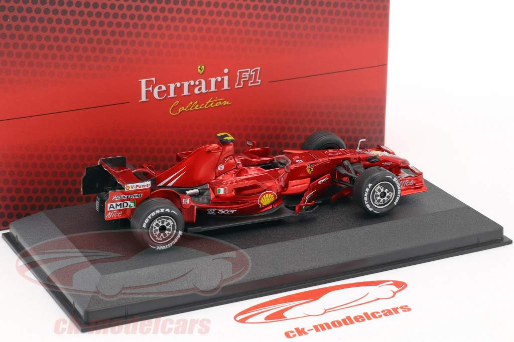 Felipe Massa Ferrari F2008 #2 2nd F1 2008 with showcase 1:43 Atlas